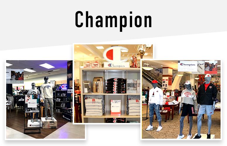 Champion Campus shop